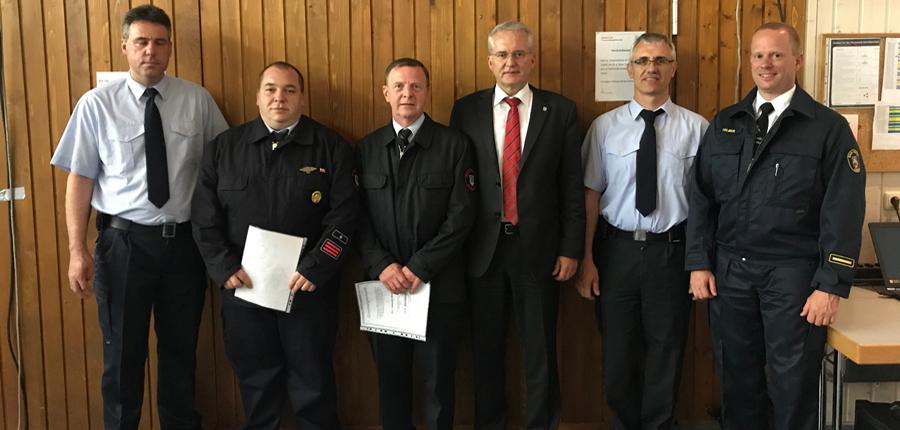 Dienstversammlung der Feuerwehren der Stadt Wächtersbach