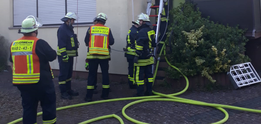 Übung Brandschutzzug Wächtersbach (Katastrophenschutzzug des MKK)