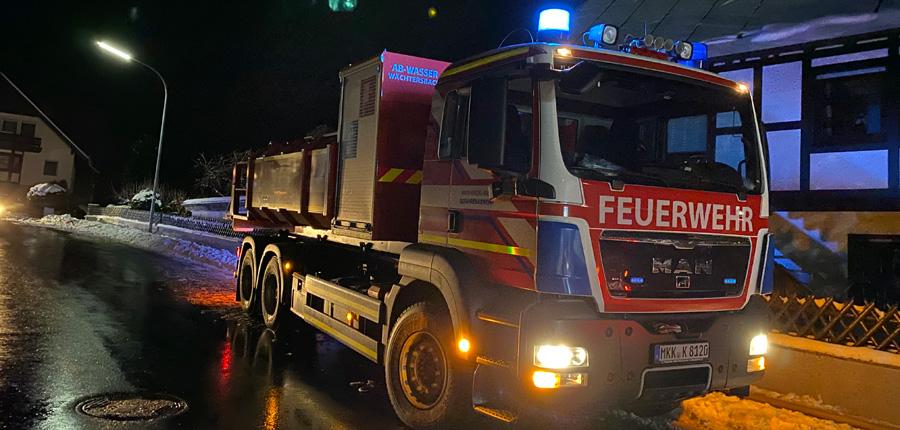 Sonderfahrzeug – F 2 – Dachstuhl, Nachforderung