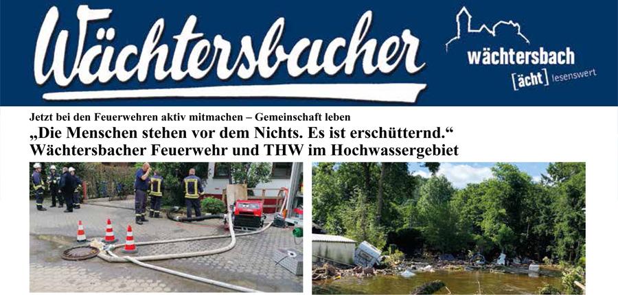Wächtersbacher Heimatzeitung Nr. 16 vom 07.08.2021
